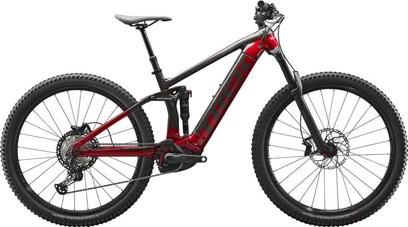 RAIL 7, dnister black / rage red